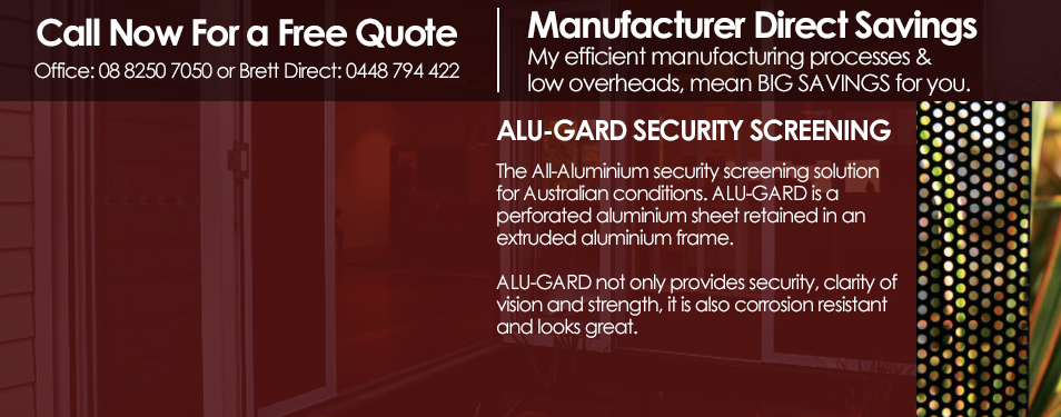 ALU-GARD SECURITY SCREENING